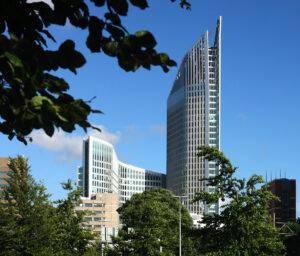 Glasbewassing RSO Hoftoren Den Haag